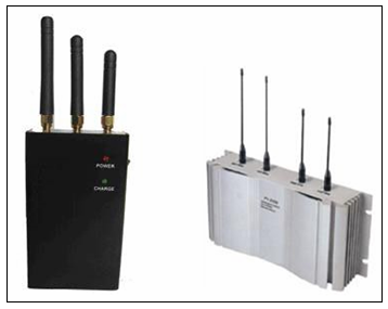 Слика 1. Ометачи GSM/UMTS сигнала